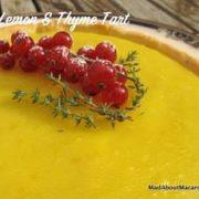 lemon thyme tart