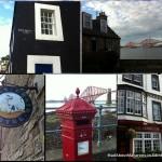 Postcard of South Queensferry village near Edinburgh