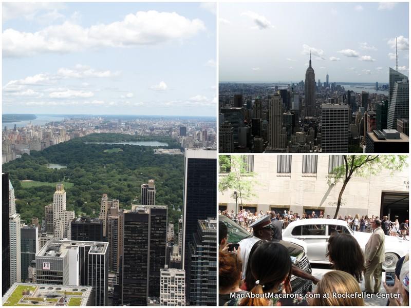 Rockefeller top of the rock views and Lady Gaga NBC