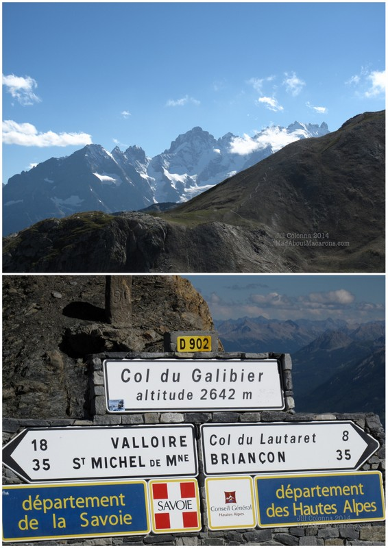 French Alps le Col du Galibier