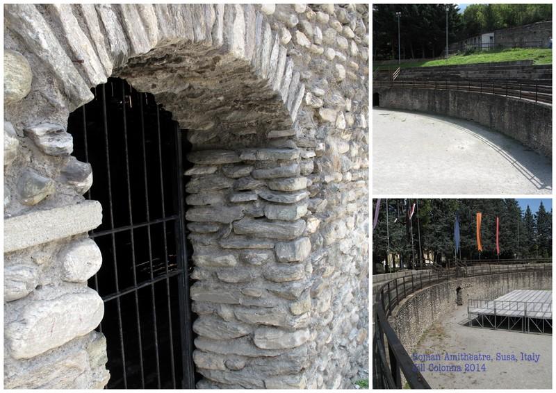 Roman amphitheatre in Susa, Italy