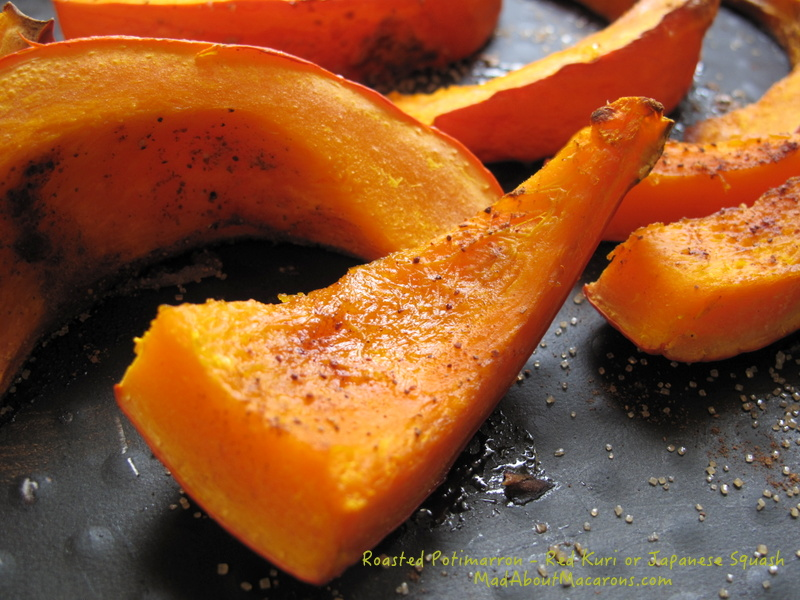 roasted red kuri or Japanese squash