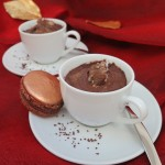 best quick holiday chocolate desserts presented with macarons