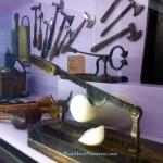 Sugar cone cutters gourmet chocolate museum Paris