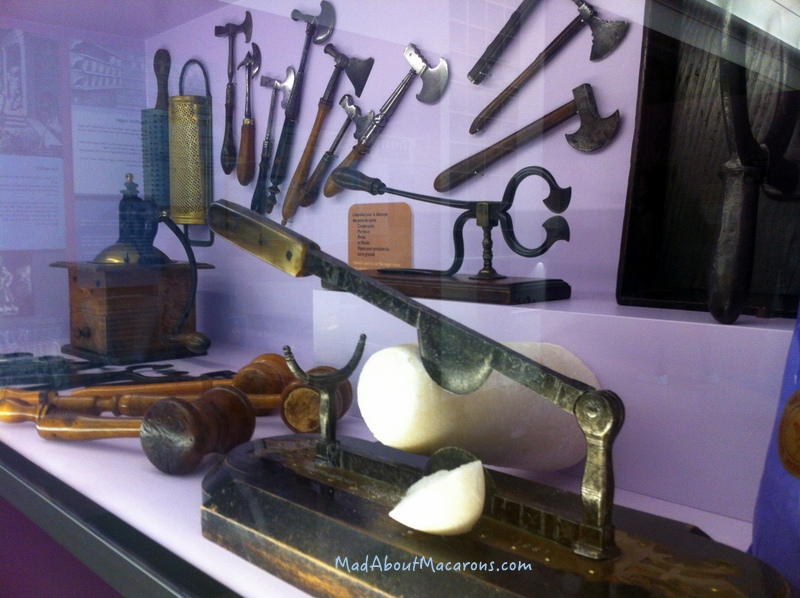 Sugar cone cutters - Paris Chocolate Museum