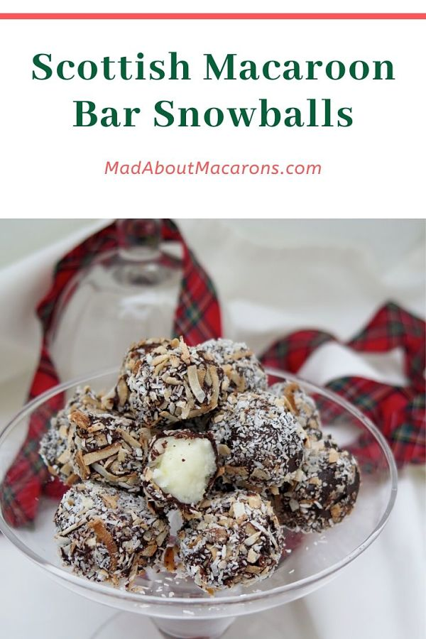 Scottish Macaroon Bar Snowballs