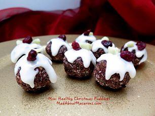 express mini Christmas puddings