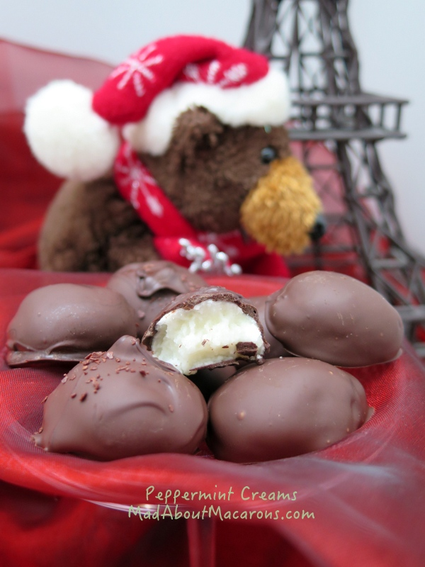 peppermint creams recipe
