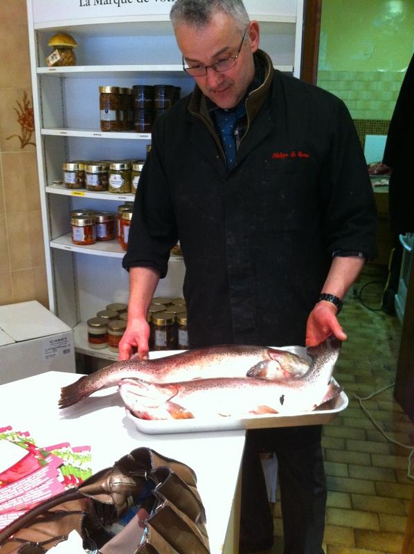 My favourite French butcher in Le Vésinet near Paris