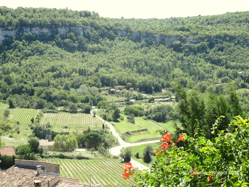 View from Saignon in Provence