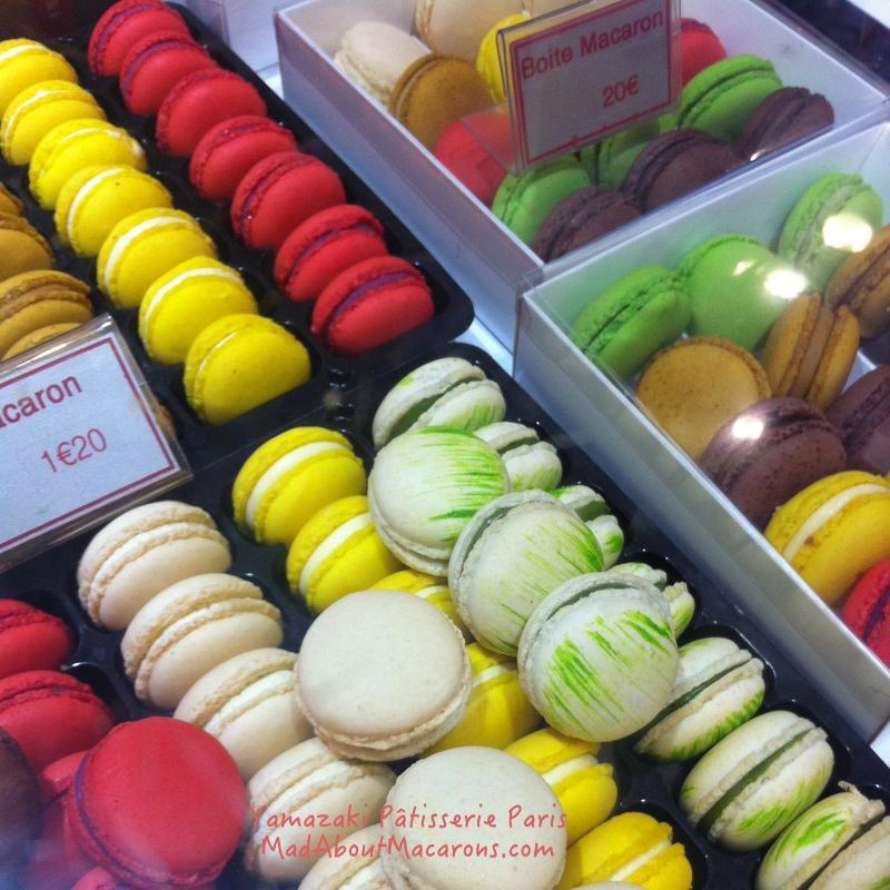 Yamazaki macarons Paris