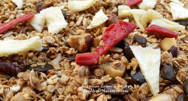 Brazil nut homemade granola recipe