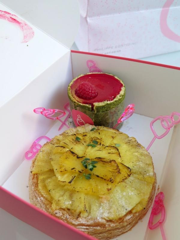 pineapple mango tart patisserie des reves Paris
