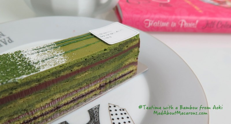 Bambou patisserie from Sadaharu Aoki Paris