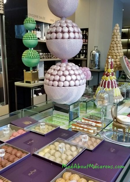 Macaron towers at Le Notre Versailles