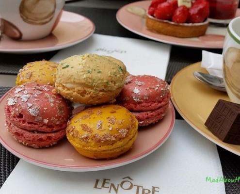 Le Notre macarons Paris