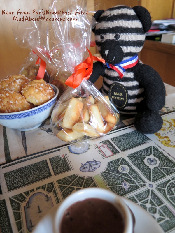 paris breakfast bear teatime financiers and chouquettes