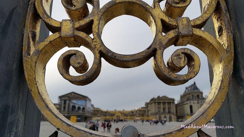 chateau de Versailles Main Gates