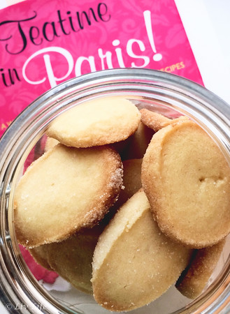 Diamond biscuits from Liv Life Teatime in Paris