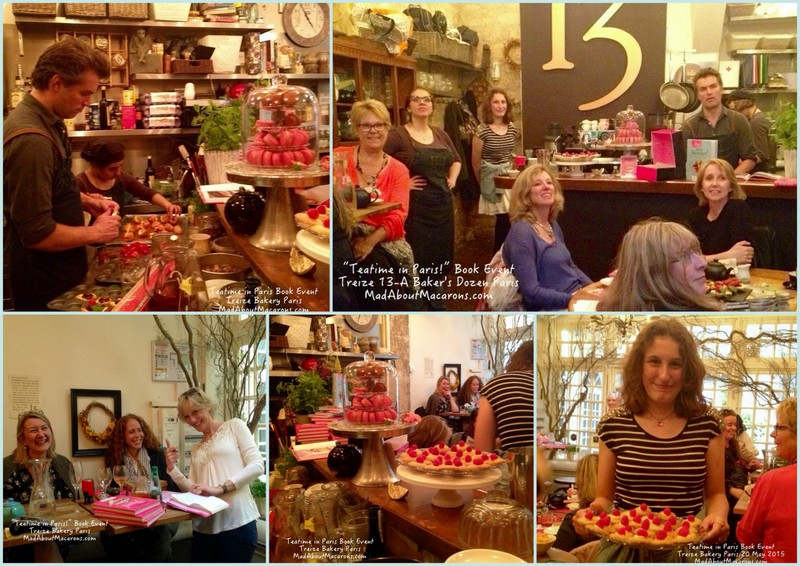 Teatime in Paris book event Treize Cafe