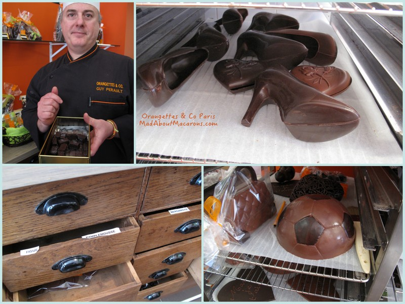 Chocolate drawers
