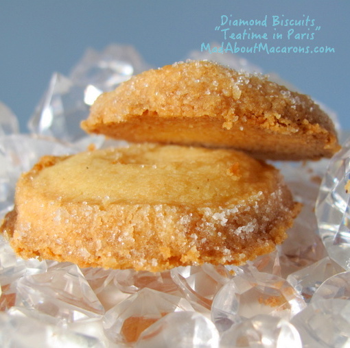 Diamond biscuits from Teatime in Paris