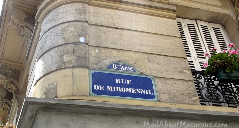 Rue de Miromesnil Paris
