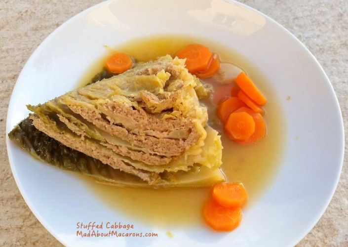 Stuffed Cabbage easy French recipe