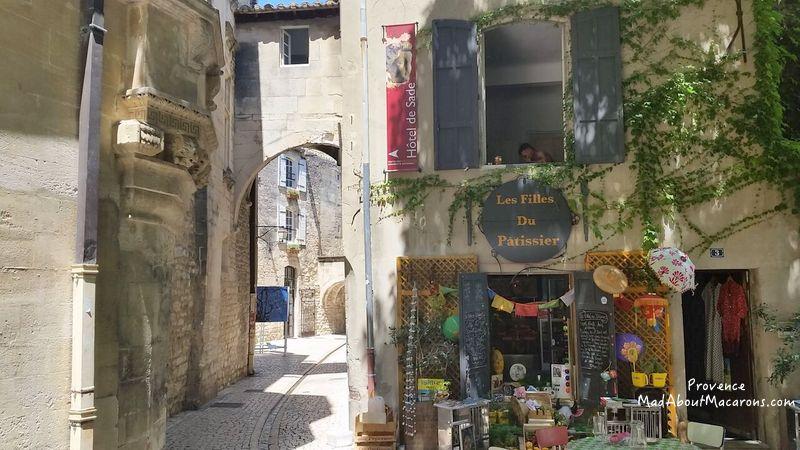 Patisserie in St Remy de Provence