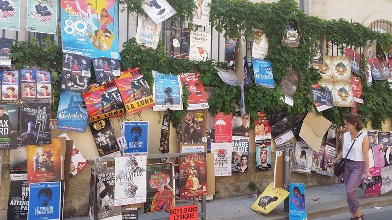 Avignon summer festival