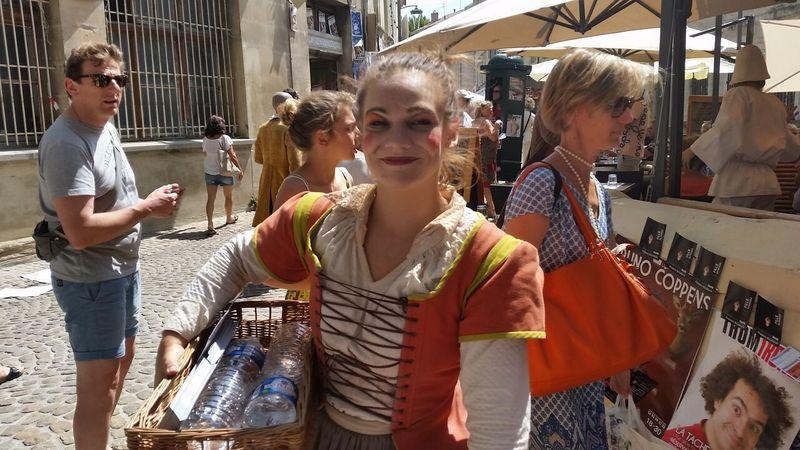 Avignon theatre festival France