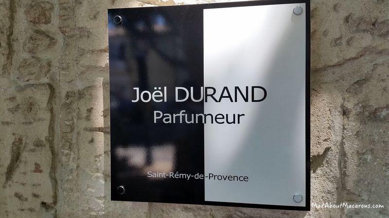Joel Durand Provence Perfume and chocolate maker