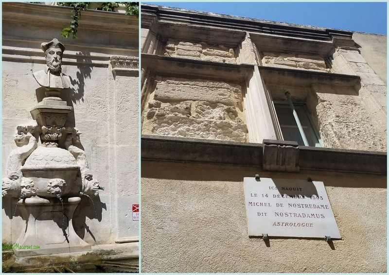 Nostradamus St Remy de Provence