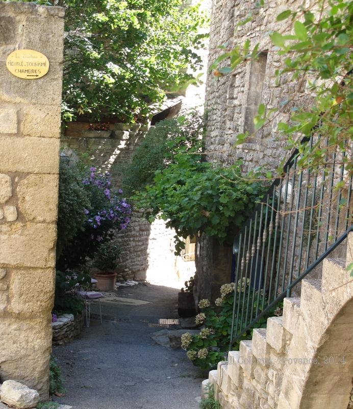 Provencal village street