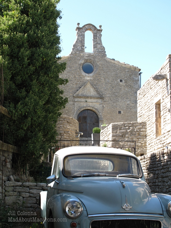 Vintage car in Provence