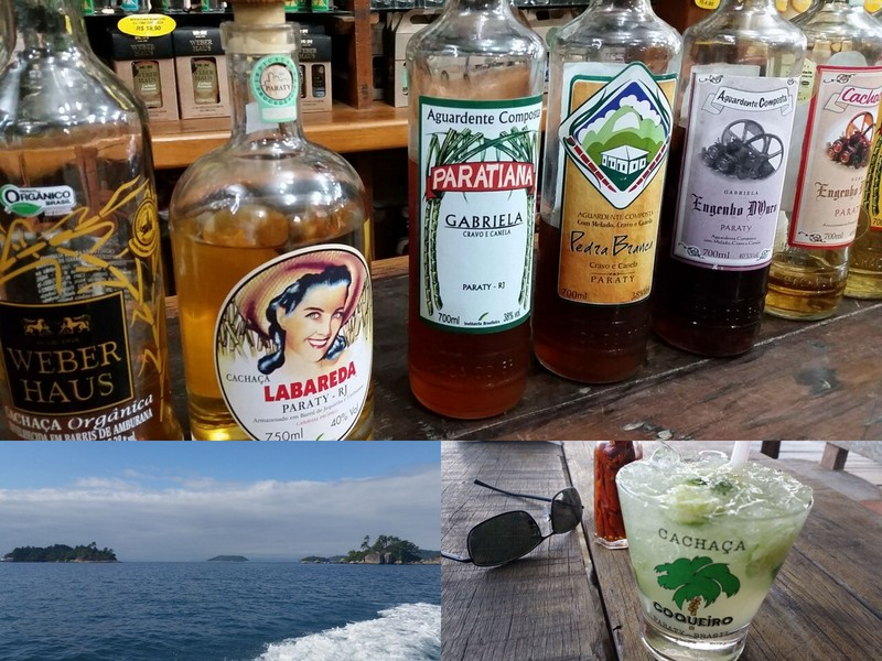 Best Cachaca in Paraty Brazil
