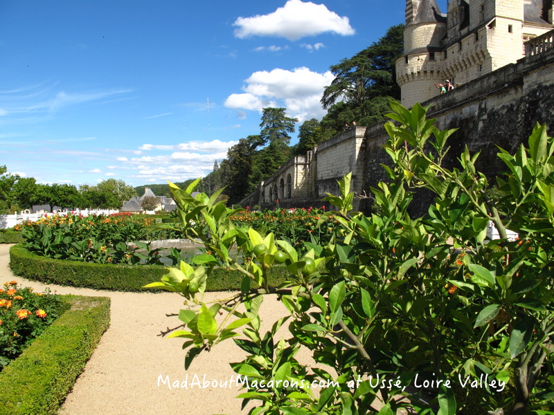 Le Notre Gardens at Chateau Usse Loire Valley