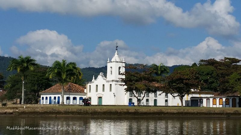 Paraty Church from the water