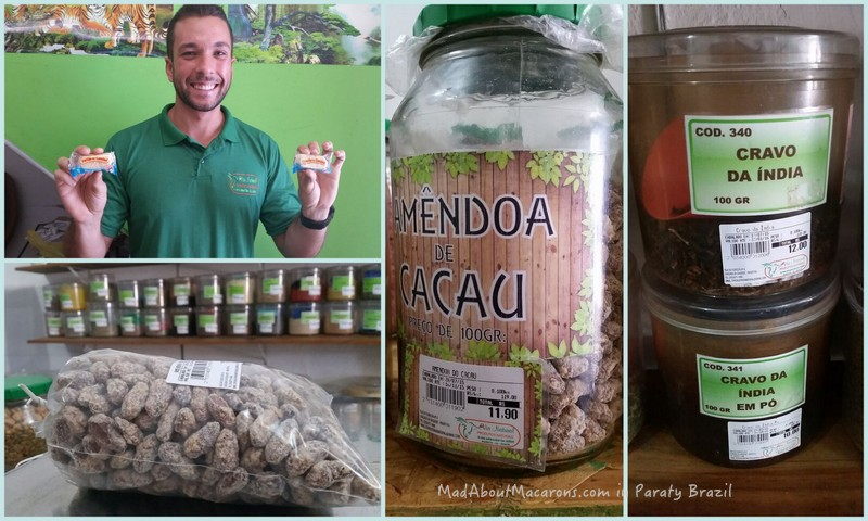 Health foods in Paraty at Via Natural