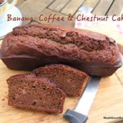 banana coffee chestnut bread