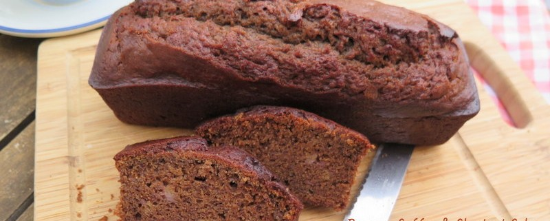 Banana coffee chestnut cake recipe