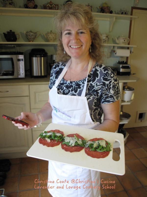 Braesola parmesan rocket rolls