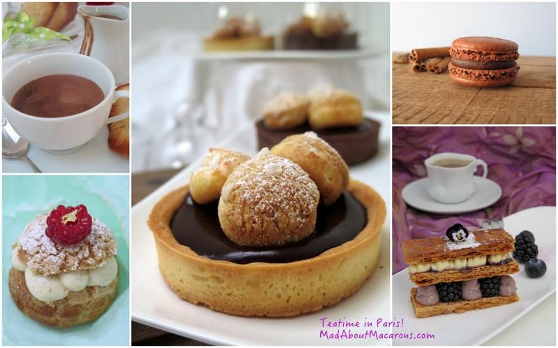 Teatime in Paris pastry recipe book and guide to patisseries in Paris