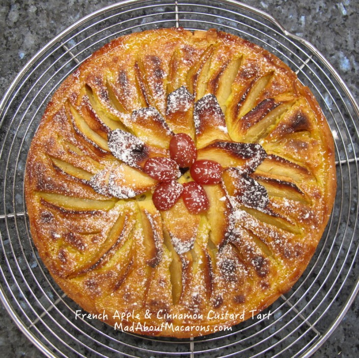 Alsacian French Apple Tart Recipe