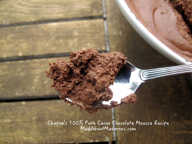 pure dark chocolate mousse Venezuela Chapon