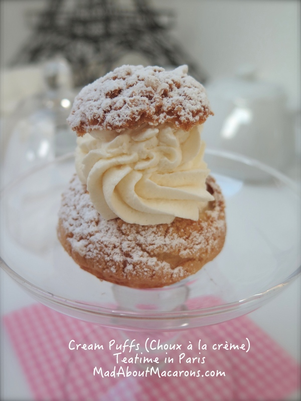 cream puff recipe from Teatime in Paris by Jill Colonna