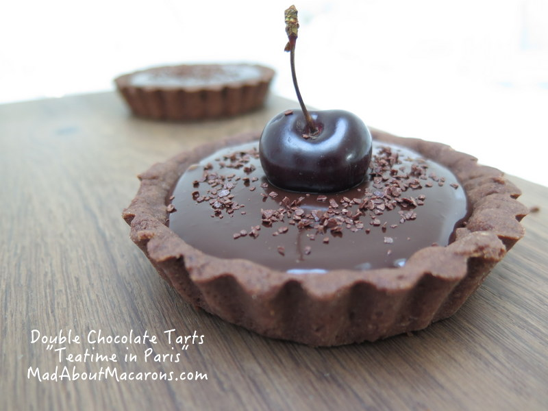 Double chocolate tarts