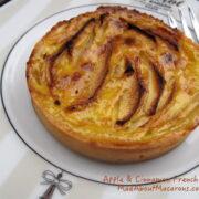 Easy best recipe for French apple tart