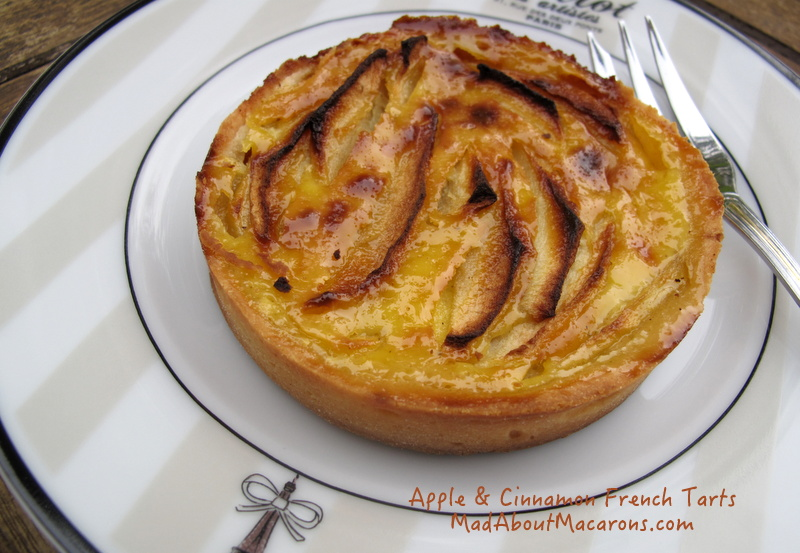 Easy best recipe for French apple custard tart