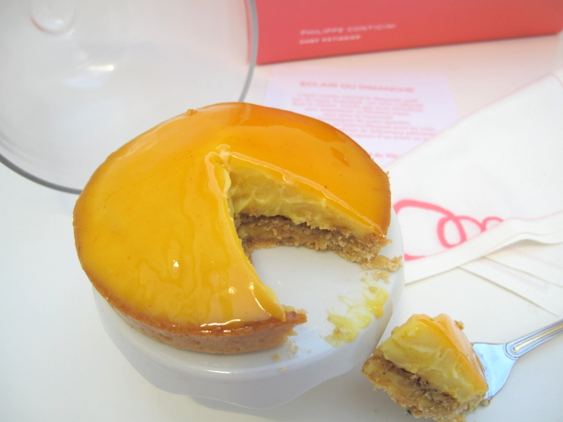 Orange tart from the French patisserie des reeves